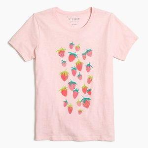 J.crew factory strawberry t-shirt